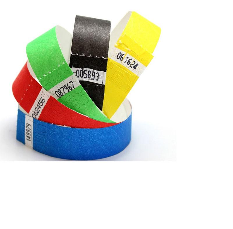 Paper RFID Wristband